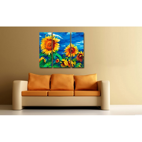 Tablou Decorativ | SunFlower Paint