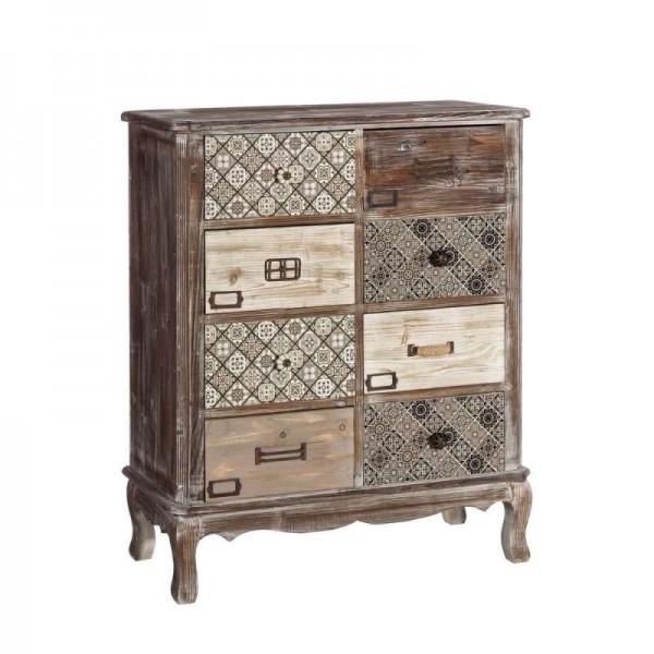Cabinet cu opt sertare Amber