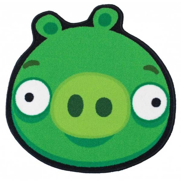 Covor Angry Birds Piggy Green