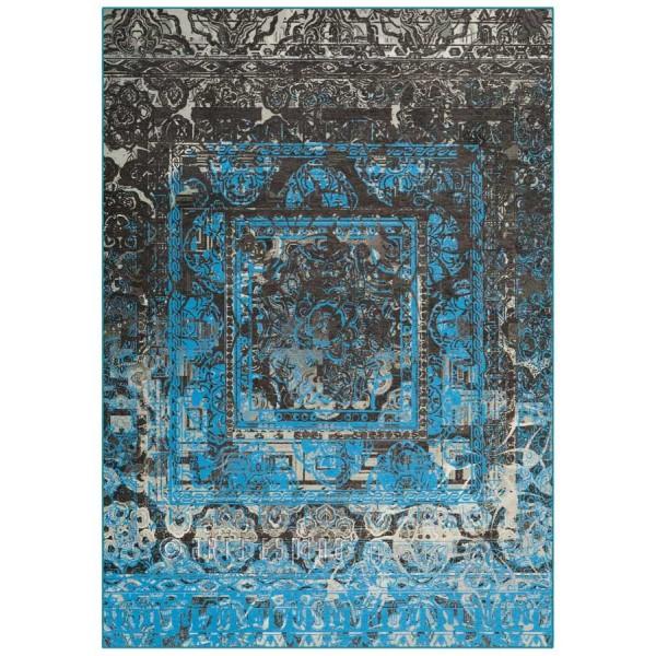 Covor Atelier Antigua Bleu, Tesut mecanic