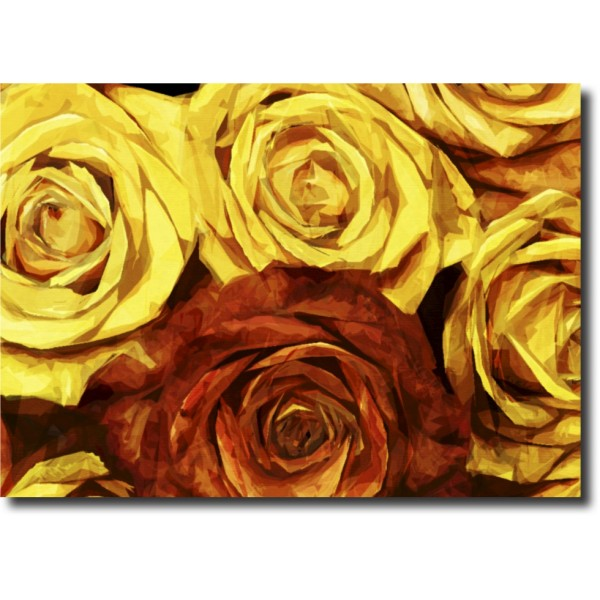 Tablou Canvas | Golden Roses