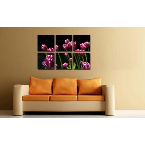 Tablou Decorativ Indigo Tulips