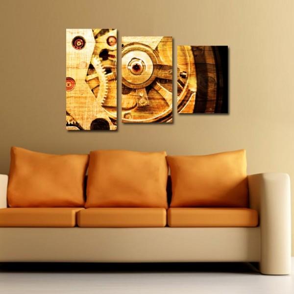 Tablouri Canvas din 3 piese | Clockwork 2