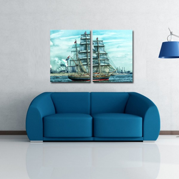 Tablouri canvas | Netherland Boat