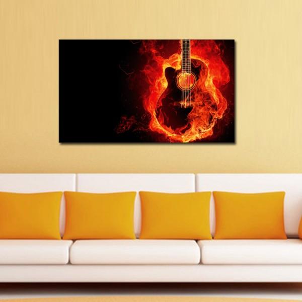 Tablou Decorativ | Music on Fire