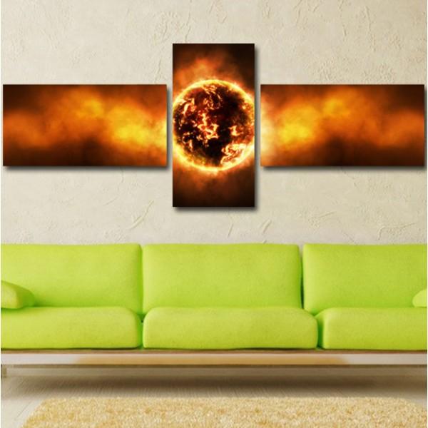 Tablou Decorativ | Black Hole Sun