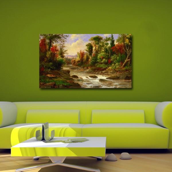 Tablou Decorativ   Peisaj Colorat