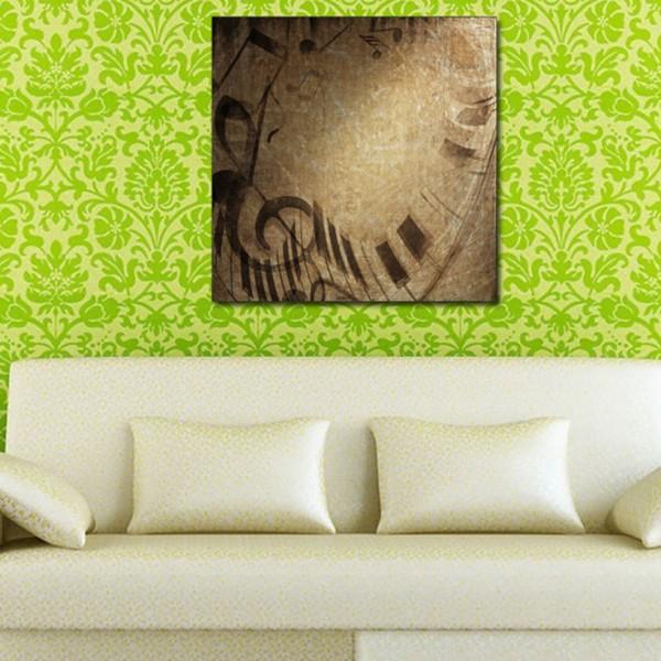 Tablou Decorativ | Siluete Music on Wall