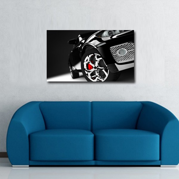 Tablou Decorativ | Black Car