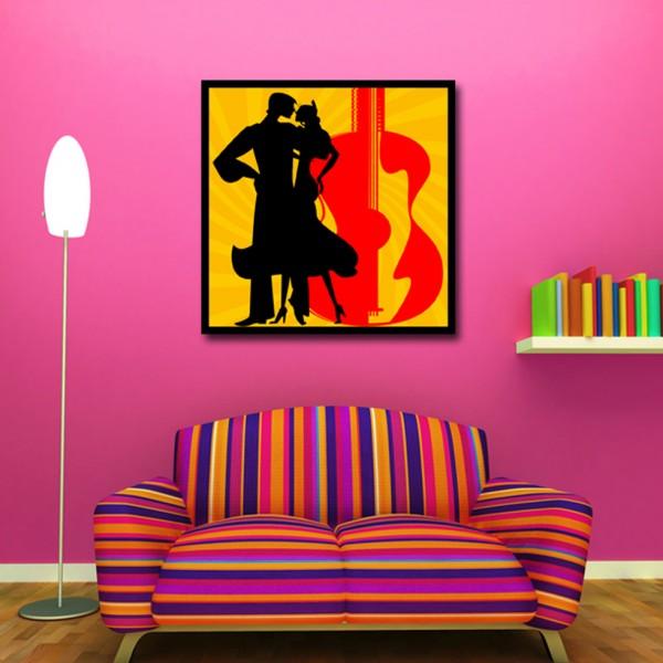 Tablou Decorativ | Siluete Dansand