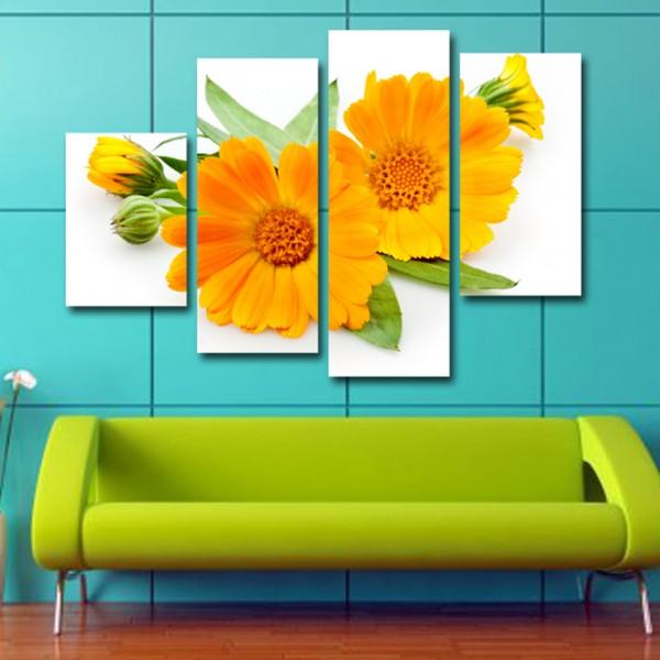 Tablou Decorativ | Floare Galbena