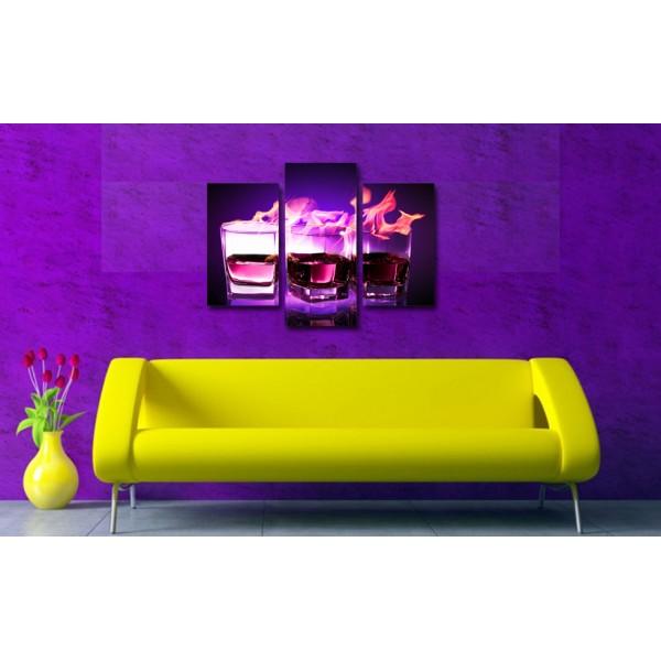 Tablou Decorativ | Pahare Violet