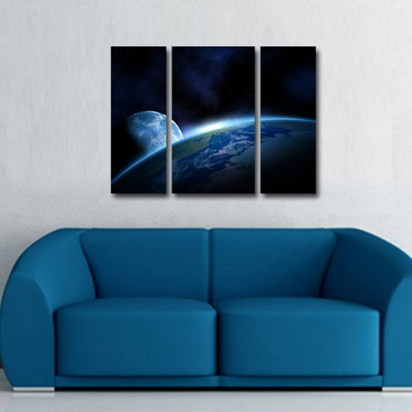 Tablou Canvas | Luna la orizont
