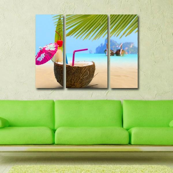 Tablou Canvas | Cocktail pe plaja