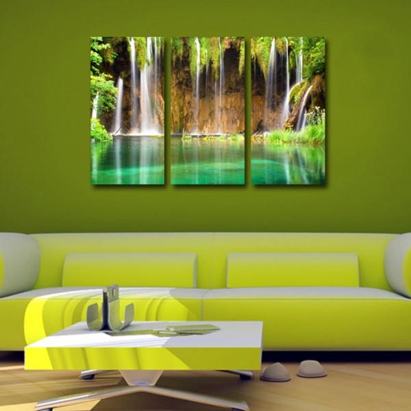 Tablouri Canvas trei piese | Cascada