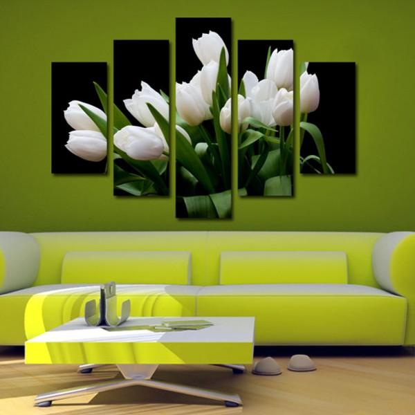 Tablou Canvas 5 piese | Buchet de flori