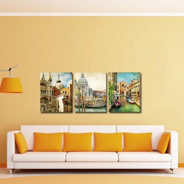 Tablou Canvas 3 piese | Momente Venetiene