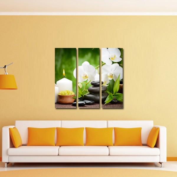 Tablou Canvas 3 piese | Buchet de flori