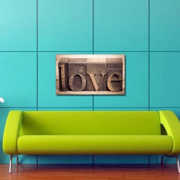 Tablou Canvas 1 piesa   LOVE