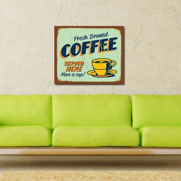 Tablou Canvas 1 piesa | Fresh Coffee