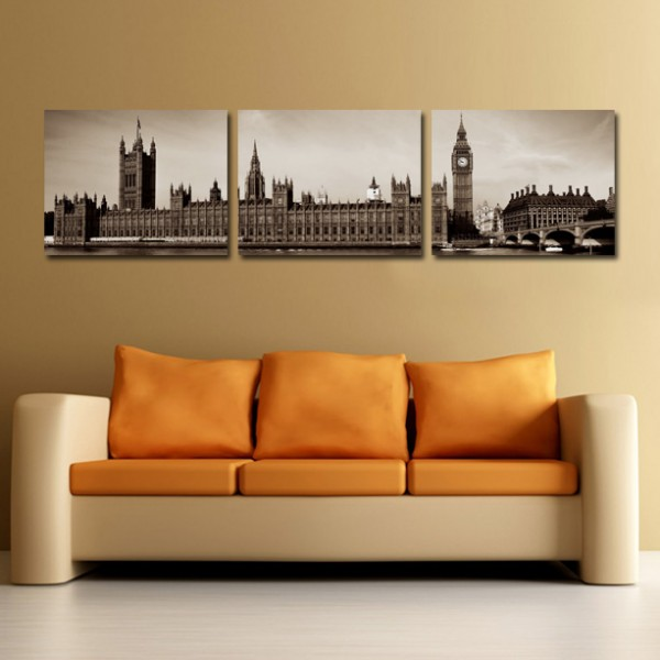 Tablou Canvas 3 piese | Londra Panoramica