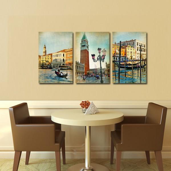 Tablou Canvas 3 piese | Colectie Venetiana