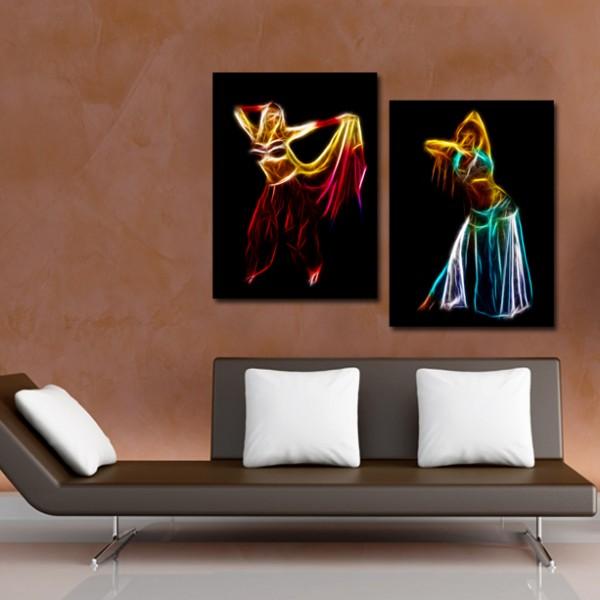 Tablou Canvas 2 piese| Dansatoare