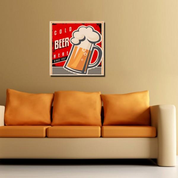 Tablou Canvas 1 piesa | Fresh Beer