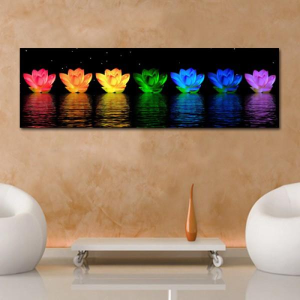 Tablou Canvas  | Flori luminate