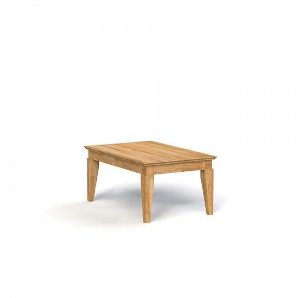 Masa de cafea din lemn masiv de stejar natural Odys, L80xl80xh50 cm