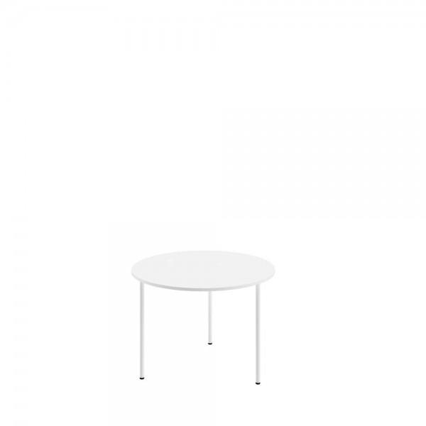 Masa de cafea Moon White, Ø50xh35 cm