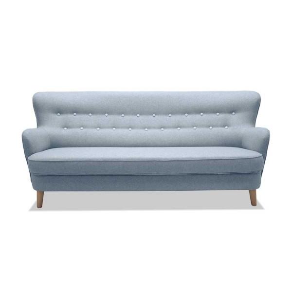 Canapea Fixa 3 locuri Eden Silver
