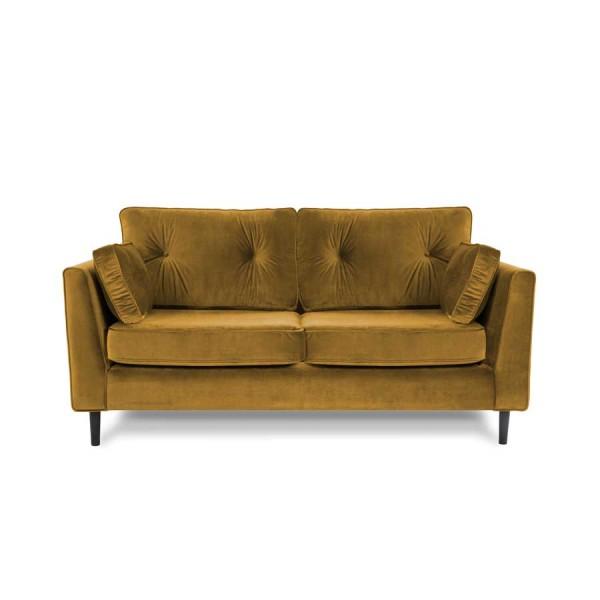 Canapea Fixa 3 locuri Portobello Yellow