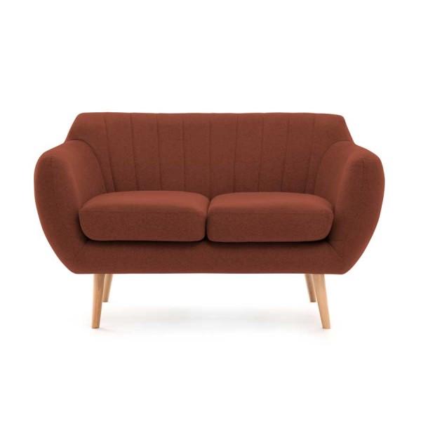 Canapea Fixa 2 locuri Kennet Marsala