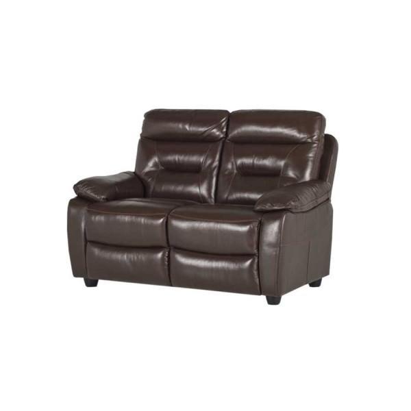 Canapea 2 locuri recliner Alessio Brown