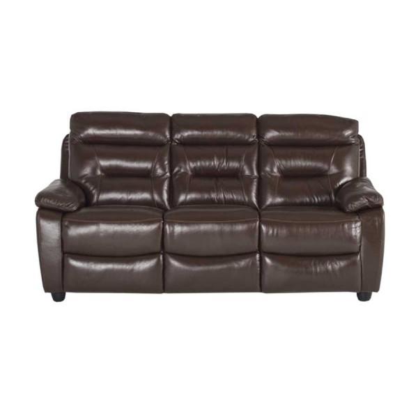 Canapea 3 locuri recliner Alessio Brown