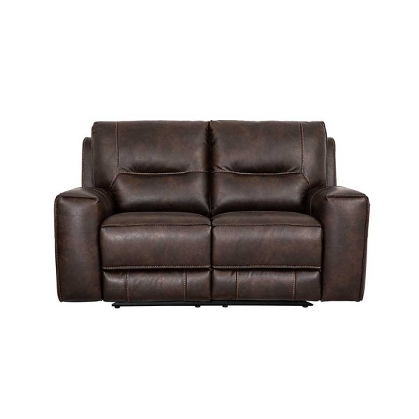 Canapea 2 locuri recliner Berkeley Brown