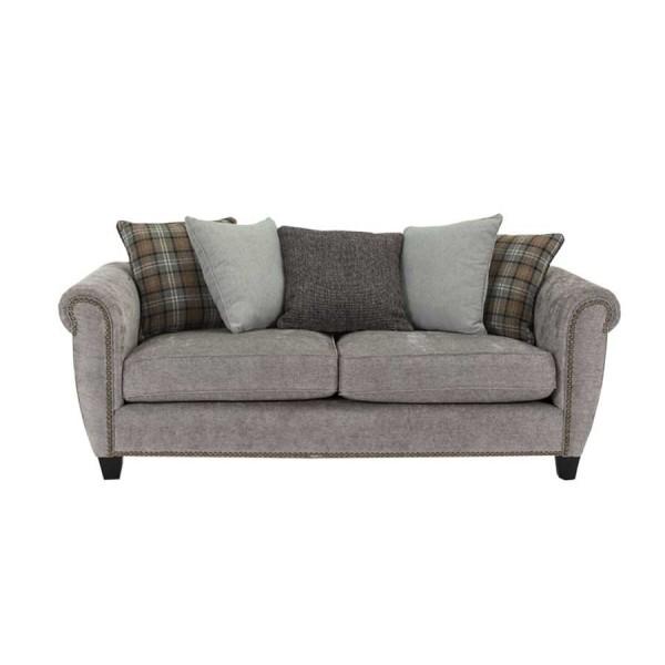 Canapea fixa 3 locuri Grace Grey