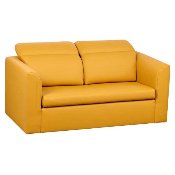 Canapea extensibila Inez Yellow