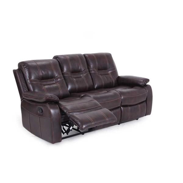 Canapea 3 locuri recliner Kennedy Brown