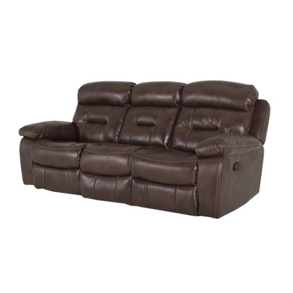 Canapea 3 locuri recliner Legend Brown