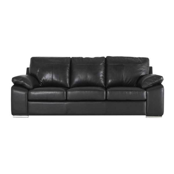 Canapea fixa 3 locuri Maranello Black