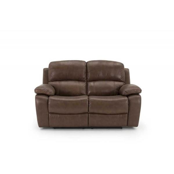 Canapea 2 locuri recliner Primo Brown