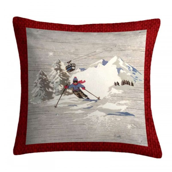 Pernă decorativă Alpinist la coborâre